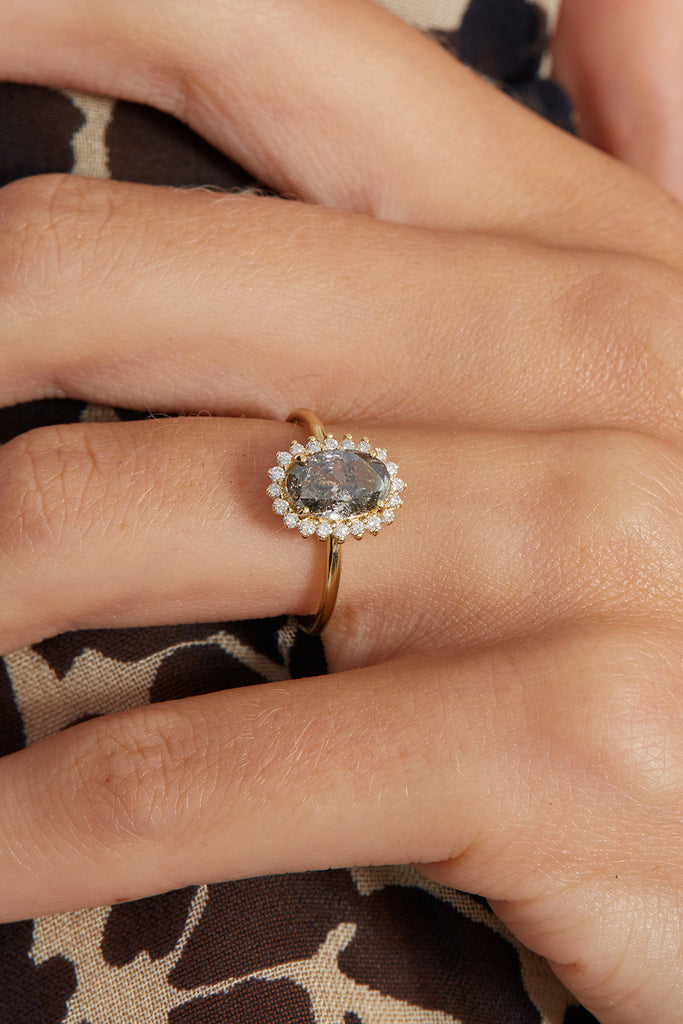 The Cecilia Ring Setting