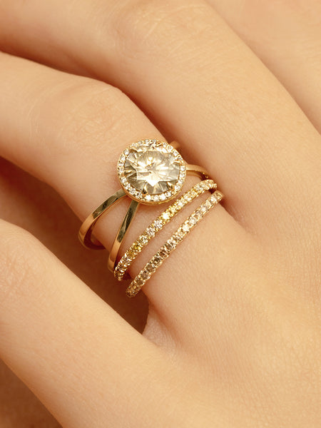 The Cleo Ring Setting (Round) [SAMPLE SALE]