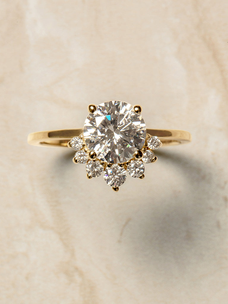 The Delilah Ring Setting