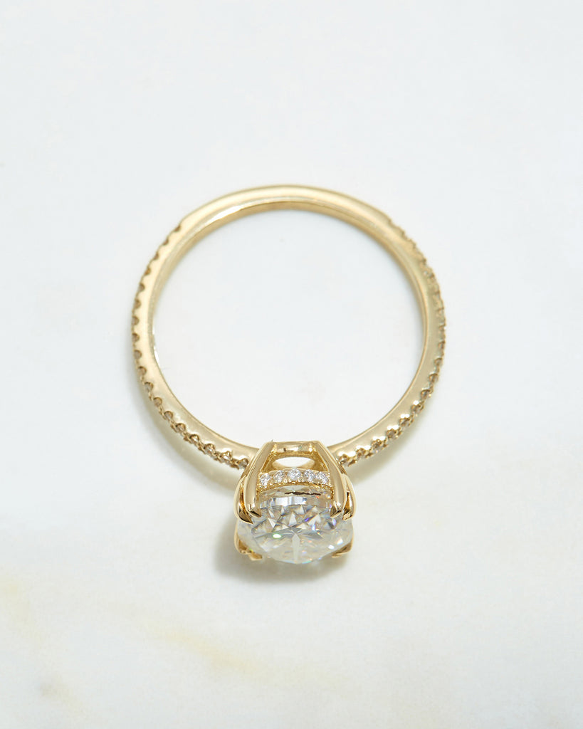 The Kaia Ring Setting (Oval)