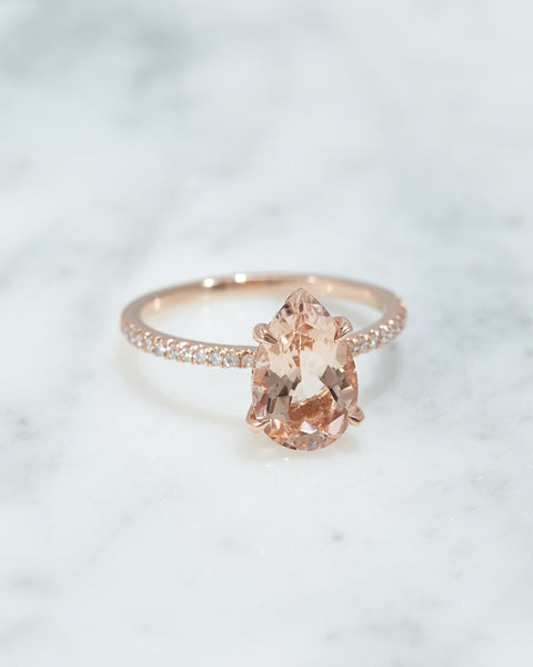 The Kaia Ring Setting (Pear)