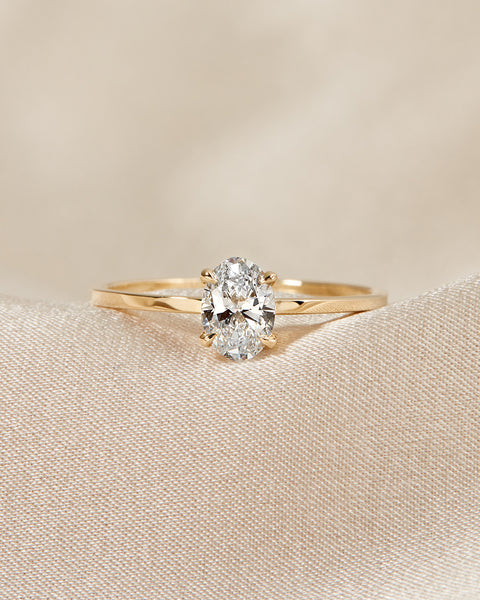 The Baby Stella Ring- Oval