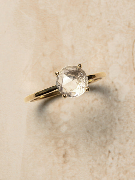 The Stella Ring Setting (Round Rose Cut) [SAMPLE SALE]