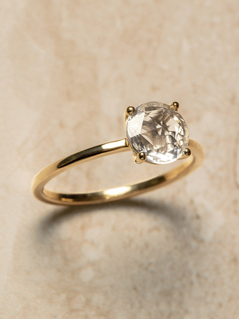 The Stella Ring Setting (Round Rose Cut)