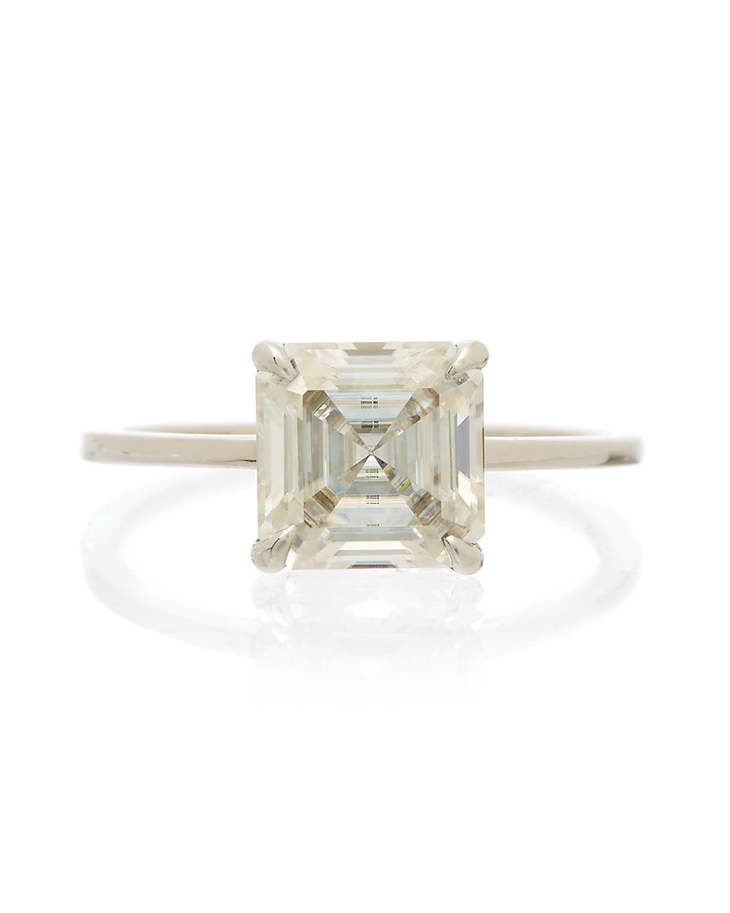 The Stella Ring Setting (Asscher)