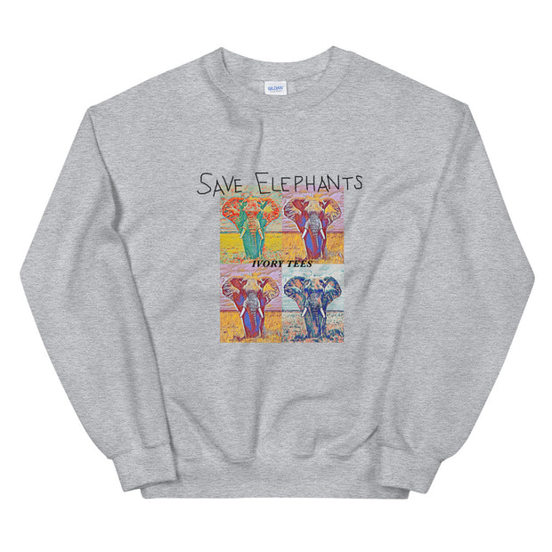 POP ART Crew Neck Sweatshirt (Unisex)