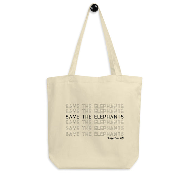 Save the Elephants Tote Bag