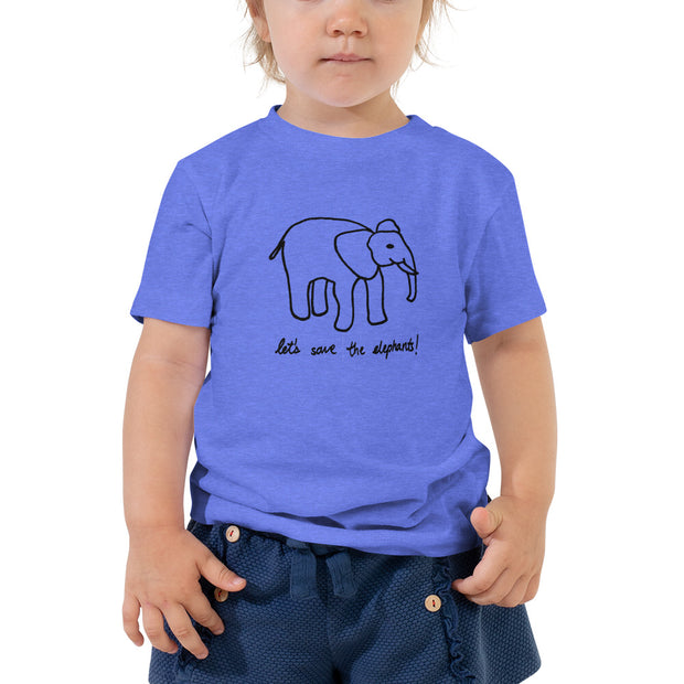 San Carlos School x Ivory Tees TODDLER shirt - Limited Time Only (more colors avail.)
