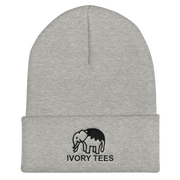 Embroidered Elephant Knit Beanie