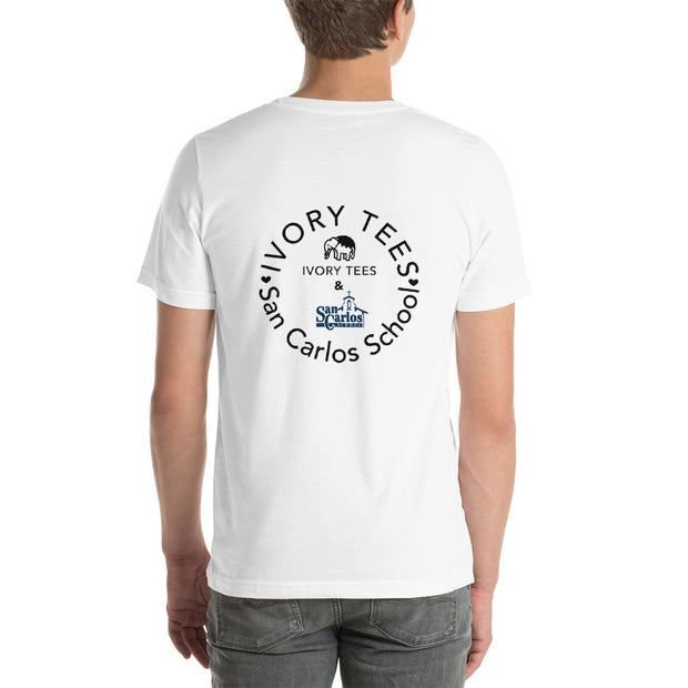 San Carlos School x Ivory Tees ADULT shirt - Limited Time Only (more colors avail.)