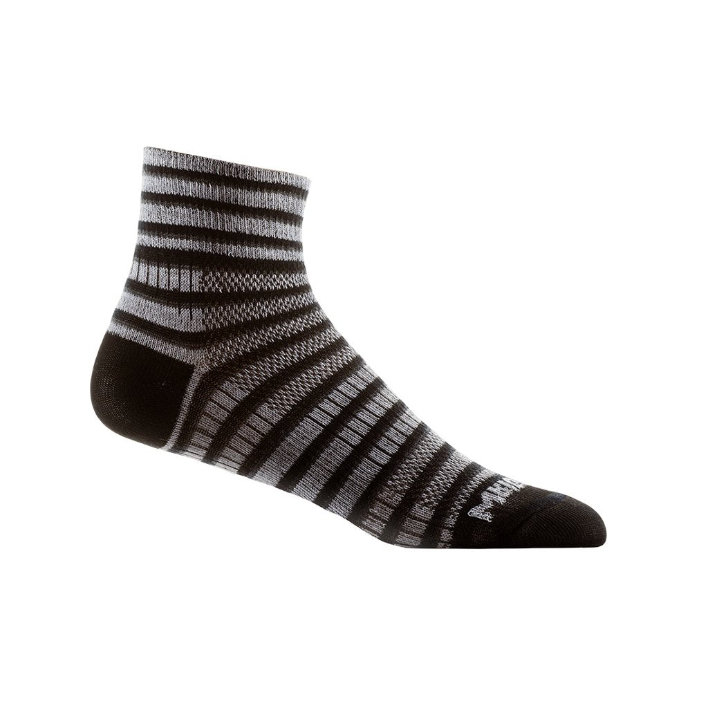 Wrightsock Stripes Coolmesh II  - Quarter