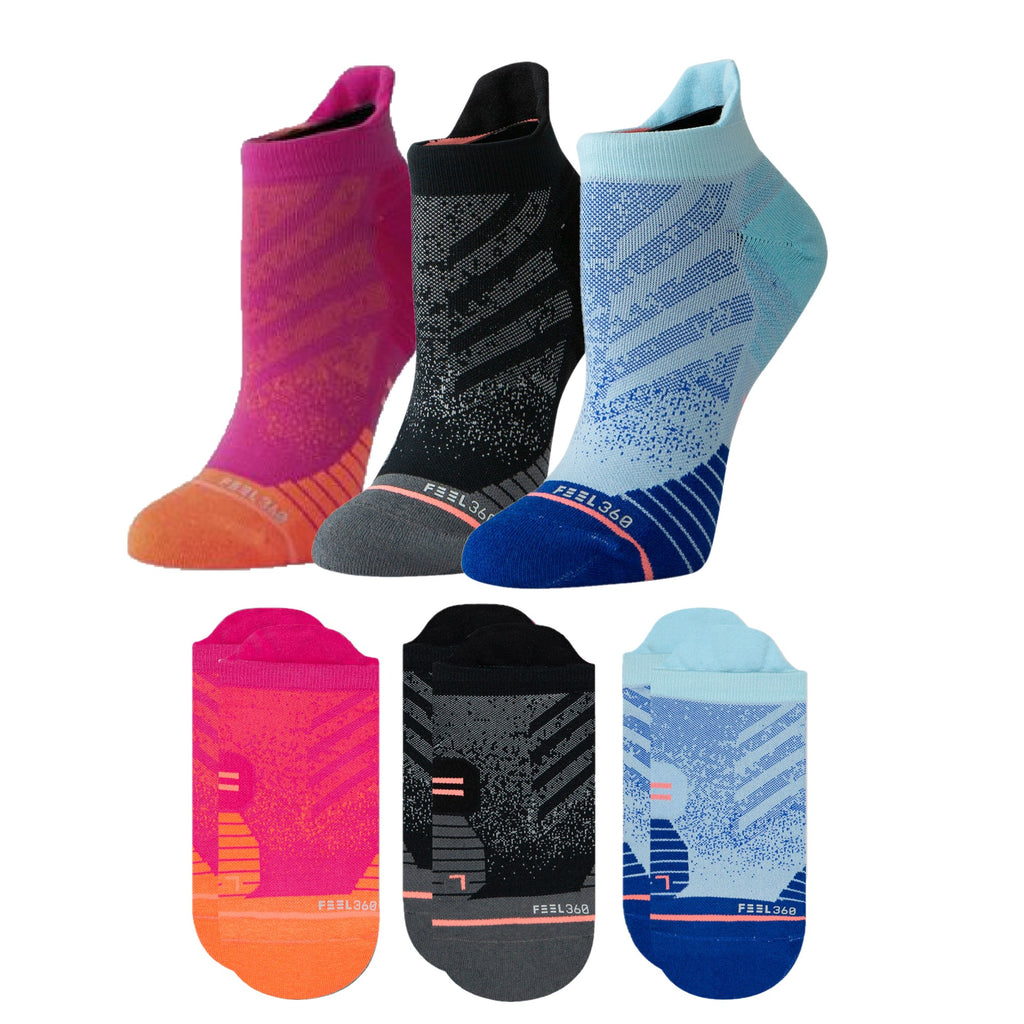 Stance Women's Run Tab 3-Pack