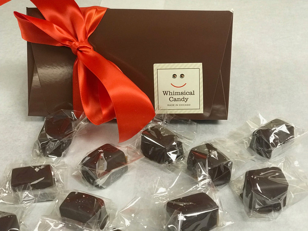 Chocolate Covered Caramel Gift Box
