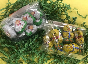 Foil Wrapped Easter Chocolates