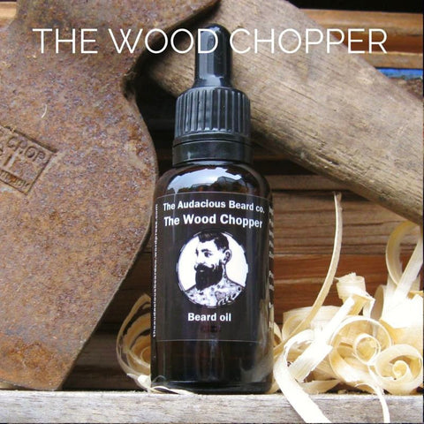 The Audacious Wood Chopper Beard Oil 30ml
