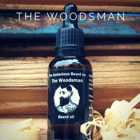 The Audacious Woodsman Beard Oil 30ml