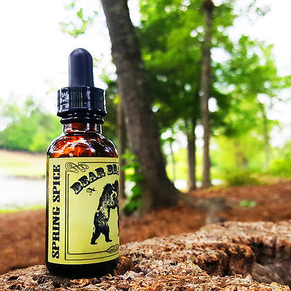 Bear Brawler Beard Products - Spring Spice Beard Oil 1 oz
