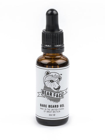 Bear Face Bare Beard Oil