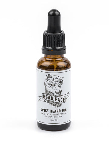 Bear Face Spicy Beard Oil