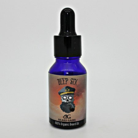 Beard Gains Deep Six Beard Oil 1 oz