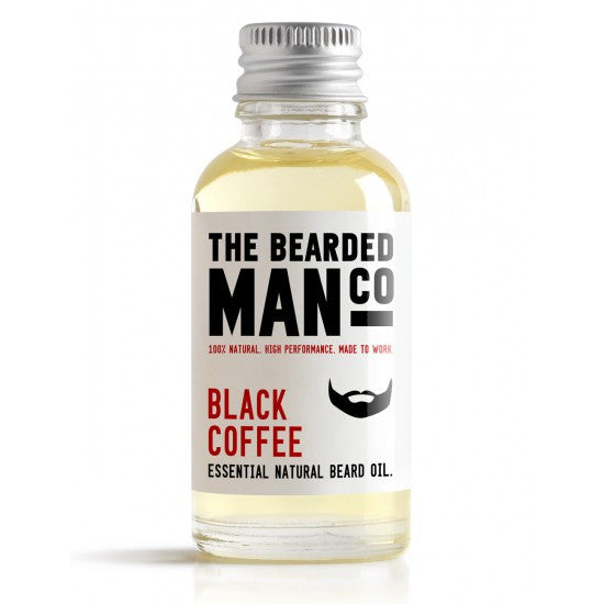 The Bearded Man Black Coffee Beard Oil 30ml