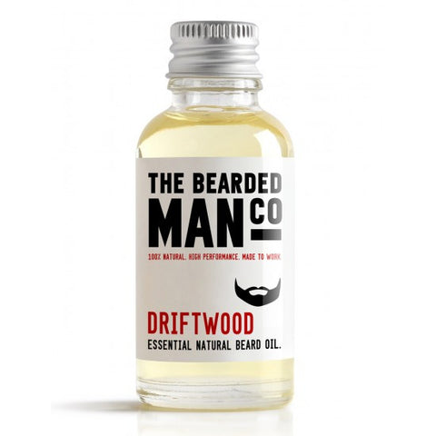 The Bearded Man Driftwood Beard Oil 30ml