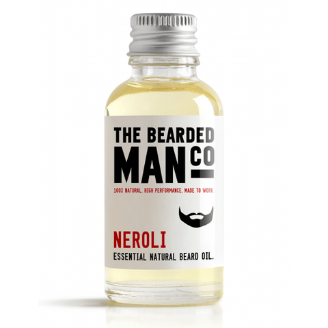The Bearded Man Neroli Beard Oil 30ml