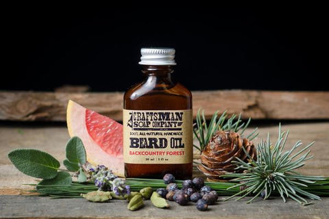 Craftsman Beard Oil - Back Country Forest 1oz