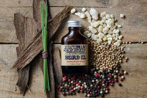 Craftsman Beard Oil - Sandalwood Spice 1oz