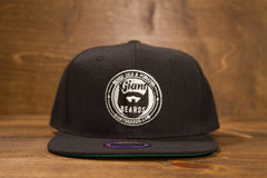 Giant Beards Snap Back Hat - Black