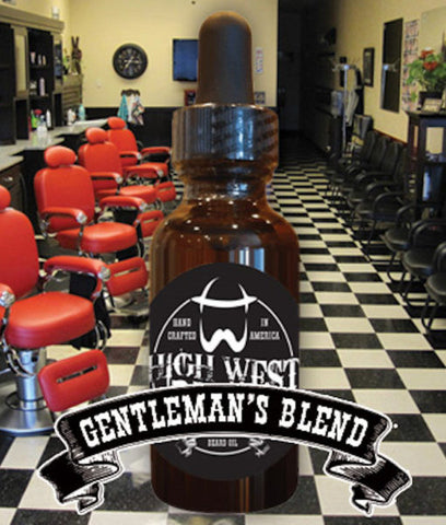 High West  - Gentleman's Blend Beard Oil