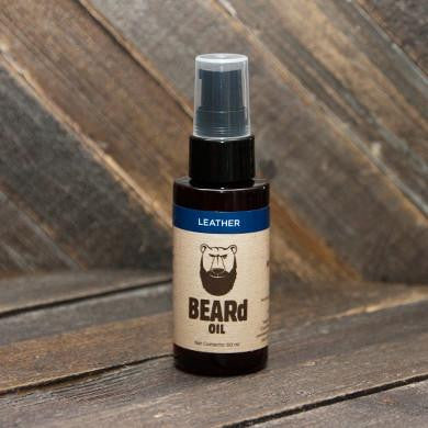 Jeremy Brown Beard Oil Company - Leather