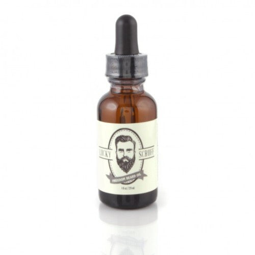 Lucky Scruff Freedom (Unscented) Beard Oil 1oz