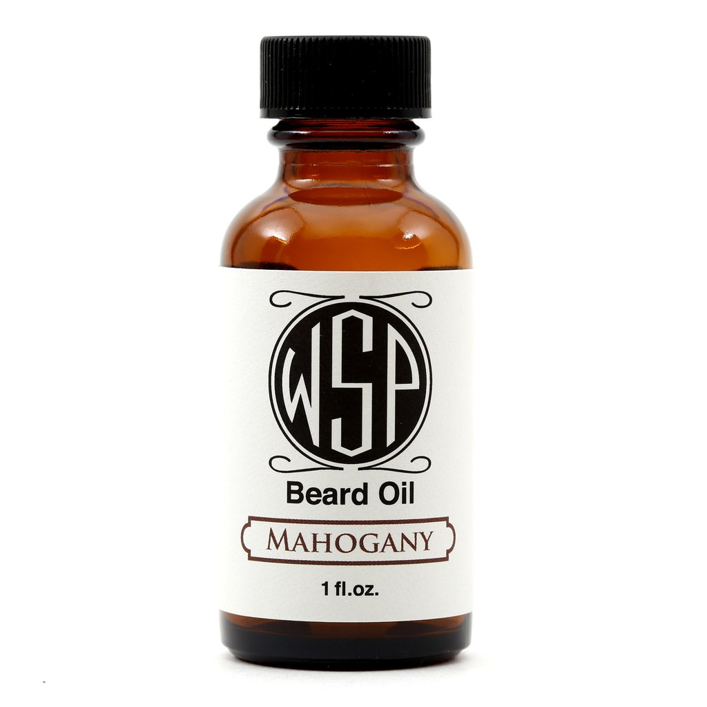 Wet Shaving Mahogany Beard Oil