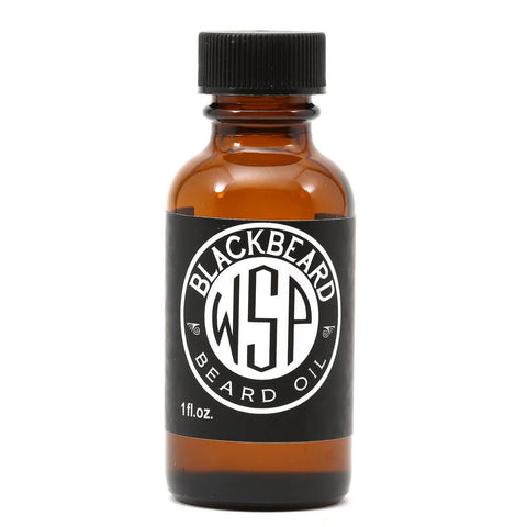 Wet Shaving Blackbeard Beard Oil