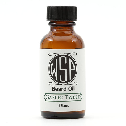 Wet Shaving Gaelic Tweed Beard Oil