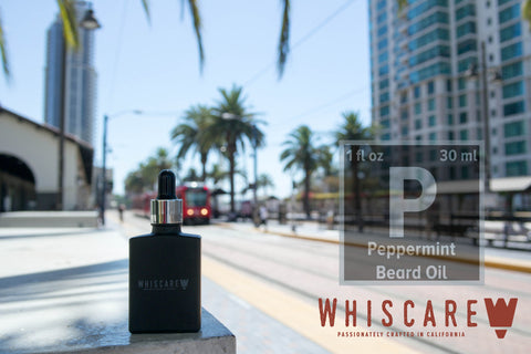 Whiscare Peppermint Beard Oil