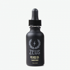 Beard Oil, Zeus Natural Sandalwood