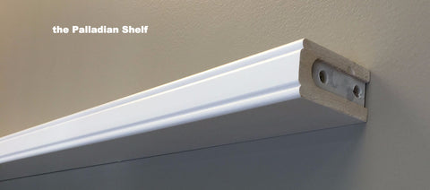"3' Palladian Shelf - From 36"" to 47 7/8"""