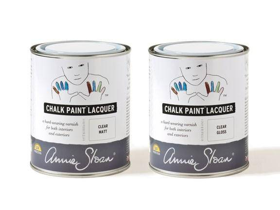 Annie Sloan Clear Lacquer (select GLOSS or MATTE) - Farmhouse Tupelo