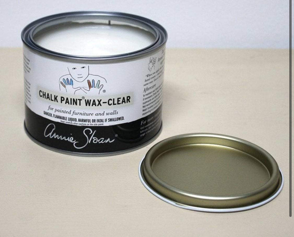 Annie Sloan Clear Wax - choose 500ml or 120ml size - Farmhouse Tupelo