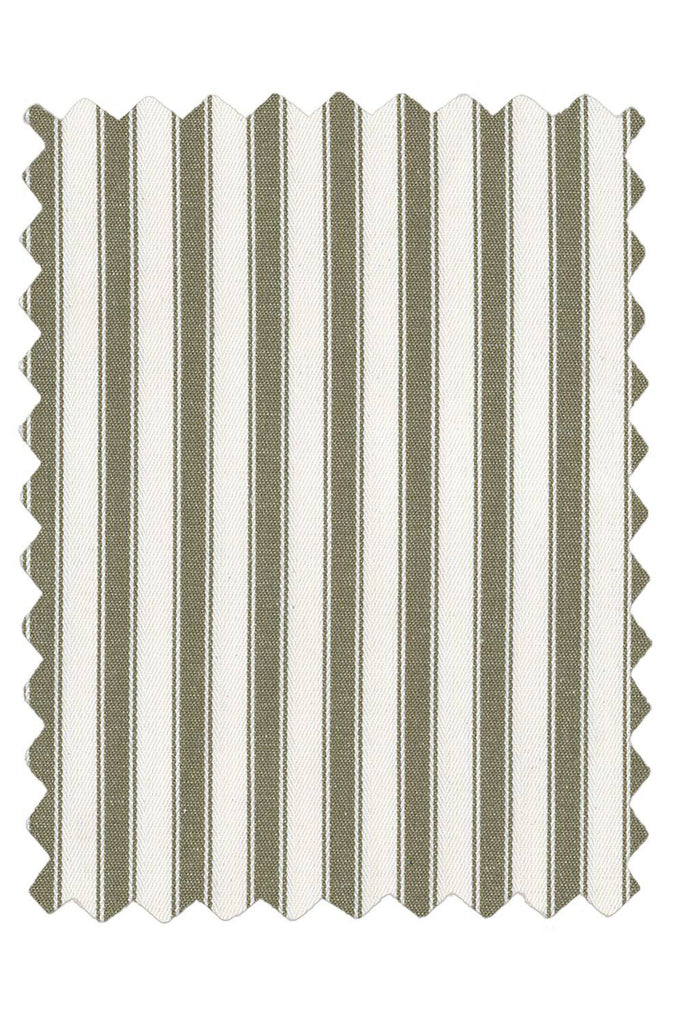 Ticking Stripes - Annie Sloan Fabric (SOLD BY THE YARD) - Farmhouse Tupelo