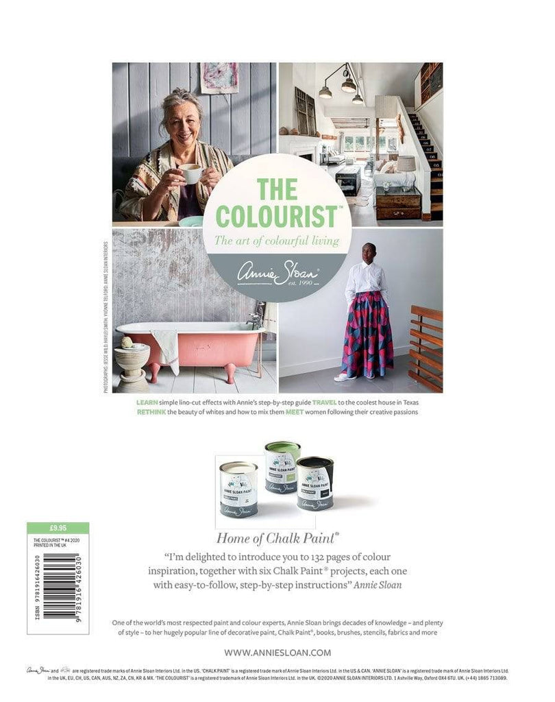 The Colourist Issue 4 - jam packed with ideas from Annie Sloan. - Farmhouse Tupelo