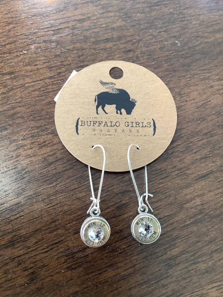 Bullet Casings Jewelry - earrings, keychains, necklaces, and bracelets recycled from law enforcement officers and federal agents - Farmhouse Tupelo