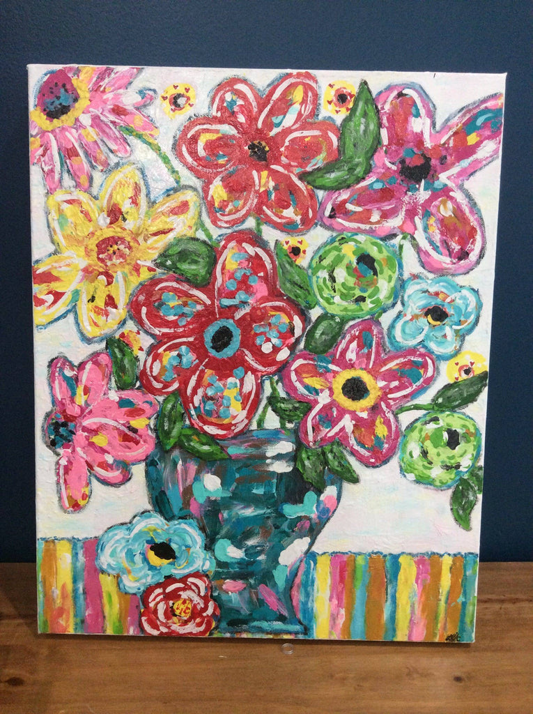 Gloria Arnold; Acrylic Paint Artist, Original pieces - Farmhouse Tupelo