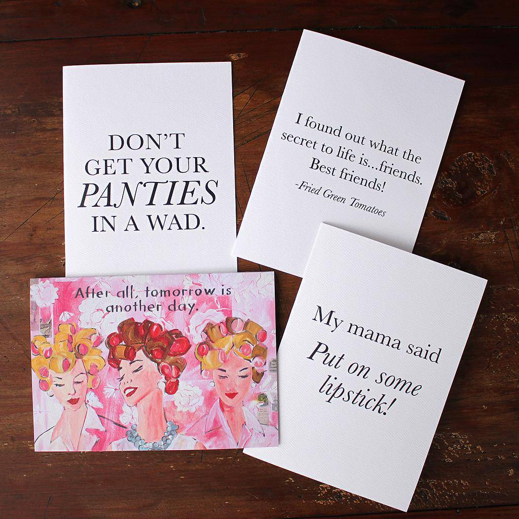 My Mama Said Note Cards/Stationary - Southern sayings (select one) - Farmhouse Tupelo