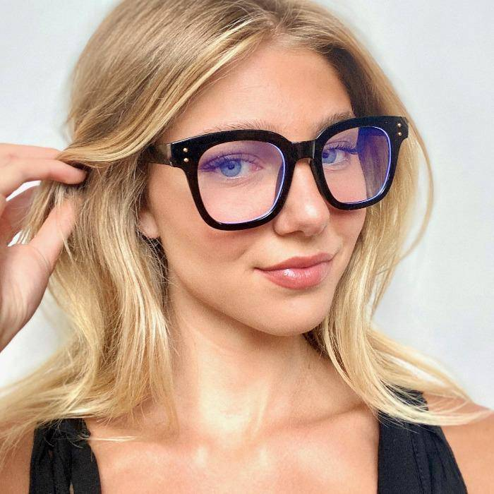 Blue Light Blocker Glasses- Square Frame - Farmhouse Tupelo
