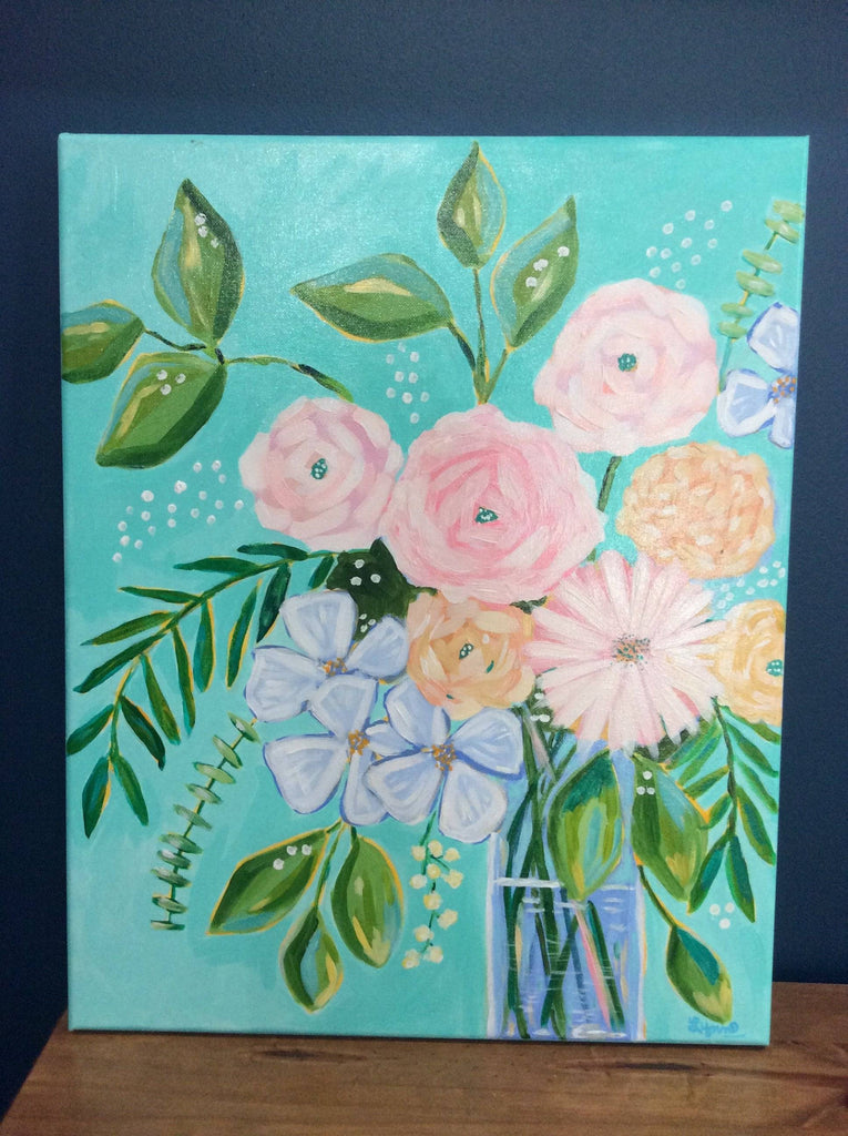 Virginia Lynn; Acrylic Paint Artist - Farmhouse Tupelo
