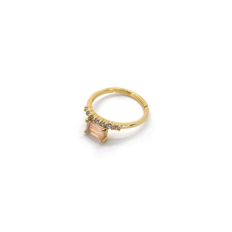 Caen Blush Ring