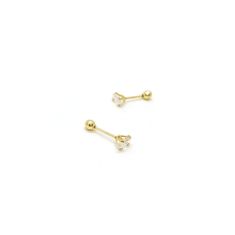 Marquise Golden Earrings - Oro 10k